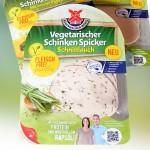 Vegetarischer Schinken Spicker mit Schnittlauch