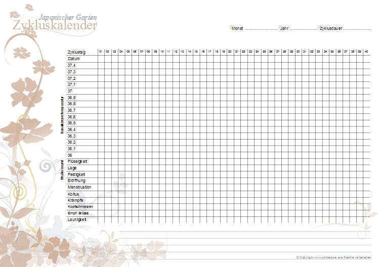 Zykluskalender japanischer Garten: gerostete Mandeln