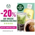 The Body Shop: 20% Rabatt auf die 15 beliebtesten Produkte