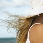 Gurke Haarbad gegen Chlorschaden