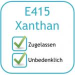 Zusatzstoffe: Xanthan (E-415)