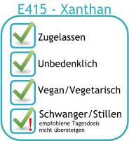 Zusatzstoff - Xanthan E415