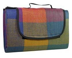 Idena Wasserabweisende Picknickdecke 130 x 170 cm