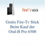 Oral-B PRO 6500 Zahnbürste kaufen und Fire-TV Stick gratis erhalten