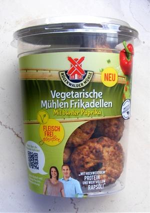 Rügenwalder Mühle Vegetarische Frikadellen Packung