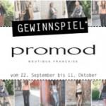 Promod – Gewinnspiel: bis zu 200 Euro Geschenkkarte zu gewinnen