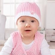 Zuckersüße Babymütze Und Jacke Mit Gratis Anleitung Pinkies