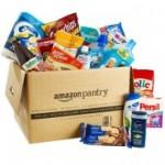 mazon Pantry - Amazons neuer Service für Prime-Mitglieder, über den man haltbare Lebensmittel, Waschmittel, Haushaltswaren, Pflegeprodukte oder Tiernahrung online bestellen kann.