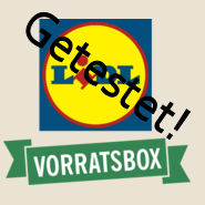 Test Lidl Vorratsbox