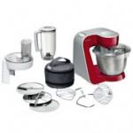 Bosch MUM 54720 Küchenmaschine mit starkem 900 Watt Motor und Edelstahl Rührschüssel
