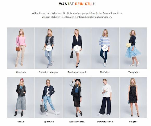 Individuelles Outfit zusammenstellen mit der Zalando Stilberatung