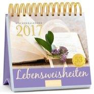 Lebensweisheiten 2017 Postkartenkalender