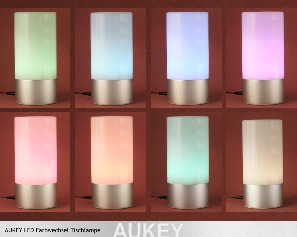 test aukey led farbwechsel lampe pinkies. Black Bedroom Furniture Sets. Home Design Ideas