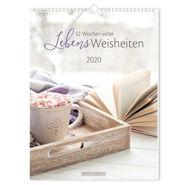 Lebensweisheiten 2020 Kalender von Grafik Werkstatt das Original