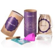 Deluxe Menstruationstasse Moskito mit viel Zubehör