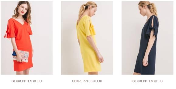 """Mut zur Farbe – Das Kleid"""" Kollektion"""