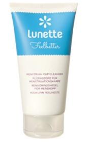 Lunette Feelbetter Flüssigseife für Menstruationstassen zu reinigen