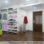 Ankleideraum - begehbarer Kleiderschrank - Ankleidezimmer - interior