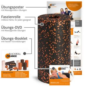 blackroll orange standard faszienrolle