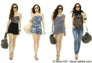 Frau Fashion-Tasche
