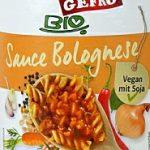 Test Gefro BIO Sauce Bolognese: vegetarisch, kalorienarm und lecker