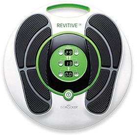 Revitive IX Durchblutungs Stimulator bei müden und geschwollenen Füßen und Beinen