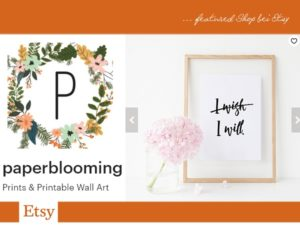 paperblooming bei etsy