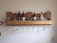 Upcycling Weinregal aus Europaletten