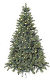 Premium Tannenbaum mit LED Lichterkette BAUR
