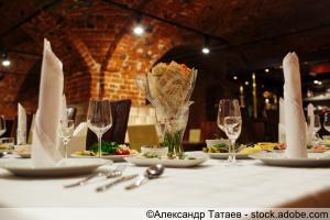 Festive Tisch