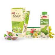 gefro salat bundle mit Salatwürze und Omega-3 Basilikumöl