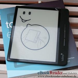 "tolino epos 2 - Premium 8"" eReader mit smartLight"