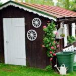 Dachabdeckung für die Gartenhütte – viele Möglichkeiten