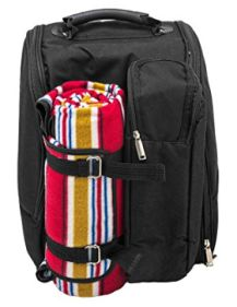 Diabolo, toller Picknick Rucksack für 2 Personen mit Picknickdecke