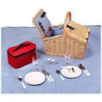 Picknick mit Qualität: Schramm® Picknickkorb
