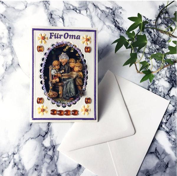 Handgefertigte Grußkarten im Vintage Stil im Etsy Shop von MadameLaCarte