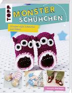Monsterschühchen - Baby Schuhe selber stricken